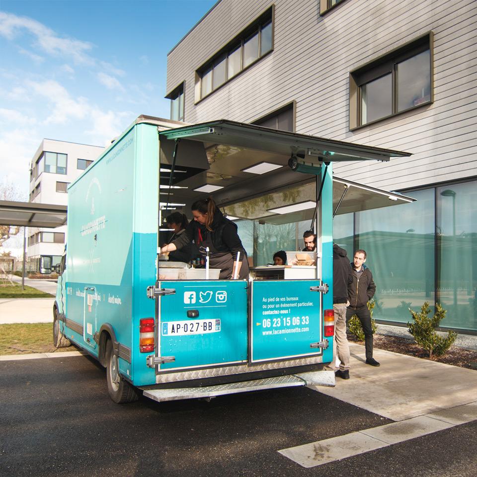 La Camionnette Food Truck à Lyon